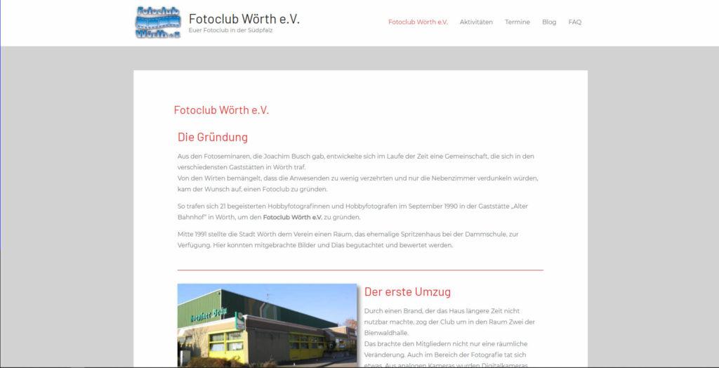 Fotoclub Wörth eV. in Wörth a m Rhein