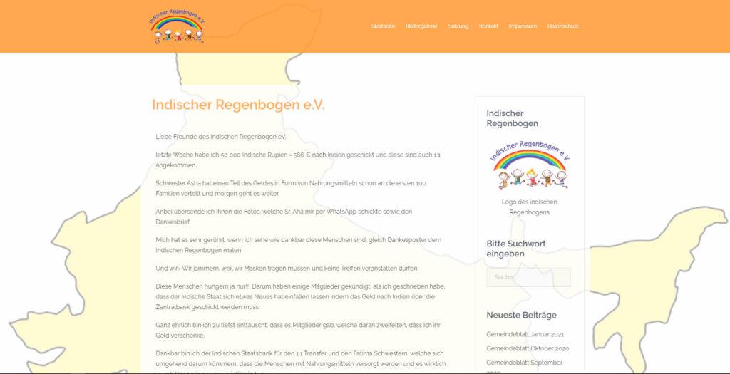 Indischer Regenbogen eV. Durmersheim