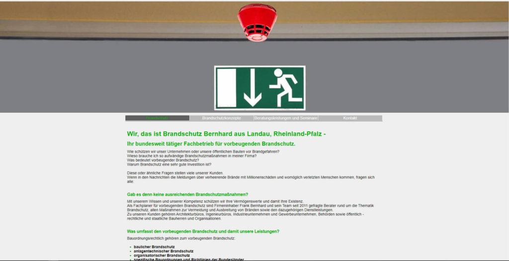 Brandschutz Bernhard in Landau in der Pfalz